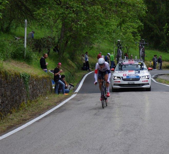 Ciclista gara Crono 2016